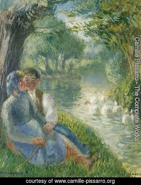 Lovers Seated at the Foot of a Willow Tree
