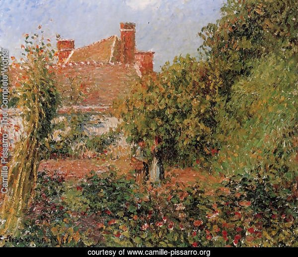 Kitchen Garden in Eragny, Afternoon
