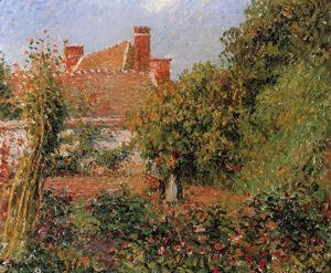 Camille Pissarro - Kitchen Garden in Eragny, Afternoon