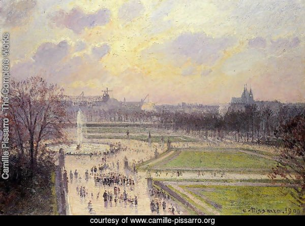The Bassin des Tuileries: Afternoon