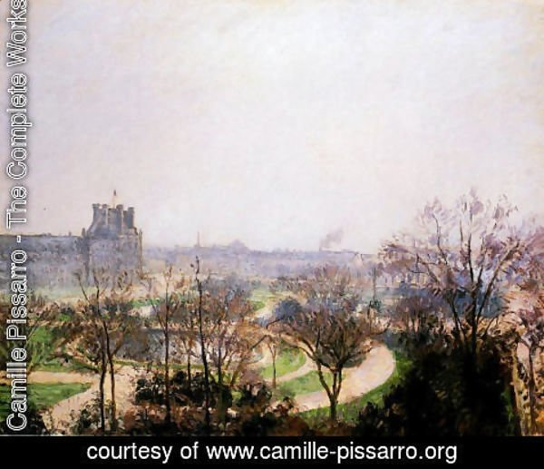 Camille Pissarro - The Tuileries Gardens