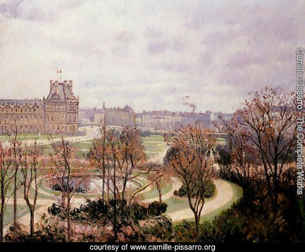 View of the Tulleries: Morning