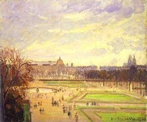 Camille Pissarro - The Tuileries Gardens I