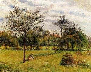 Camille Pissarro - Morning, Autumn Sunlight, Eragny