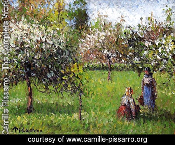 Camille Pissarro - Apple Blossoms, Eragny