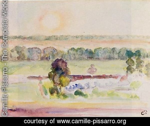 Camille Pissarro - The Effect of Sunlight