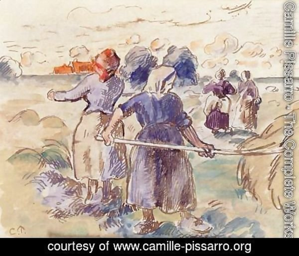 Camille Pissarro - The Tedders