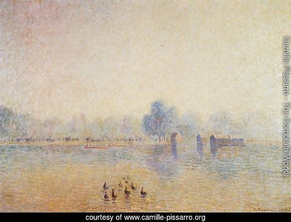 The Serpentine, Hyde Park, Fog Effect