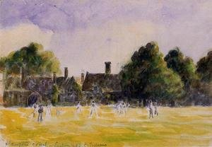 Camille Pissarro - Hampton Court Green