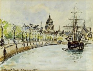 Camille Pissarro - London, St. Paul's Cathedral