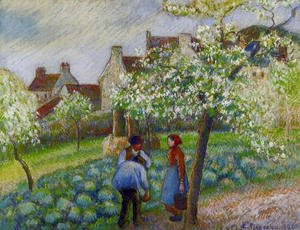 Camille Pissarro - Flowering Plum Trees