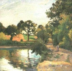 Camille Pissarro - Bridge at Montfoucault