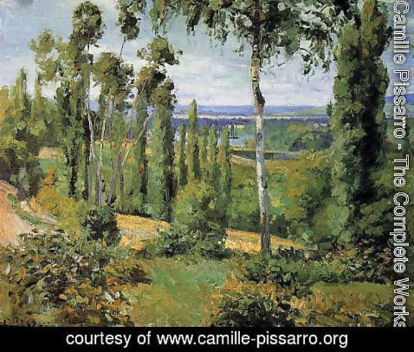 Camille Pissarro - The Countryside in the Vicinity of Conflans Saint-Honorine