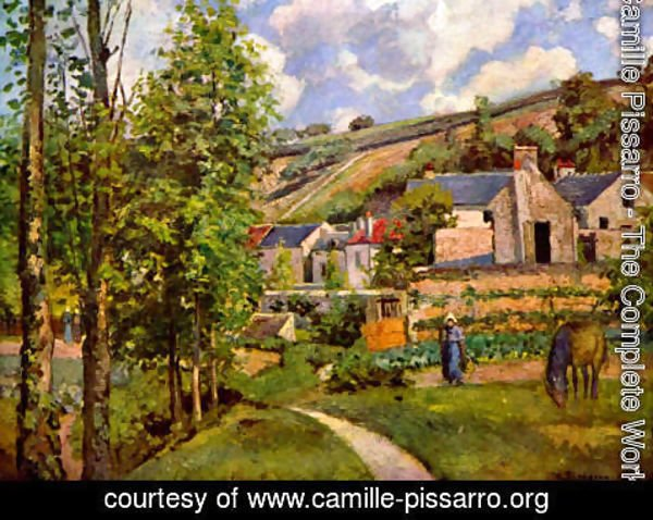 Camille Pissarro - The Hermitage at Pontoise