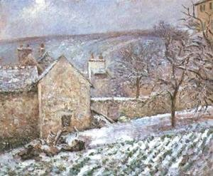 Snow at the Hermitage, Pontoise