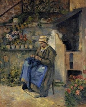 Camille Pissarro - Mother Jolly