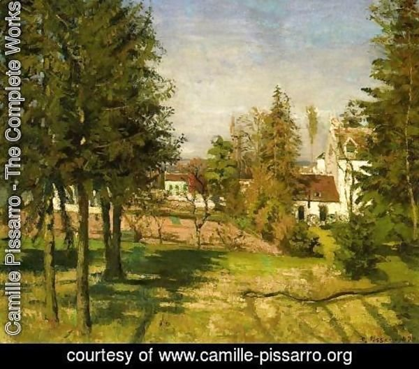 Camille Pissarro - The Pine Trees of Louveciennes