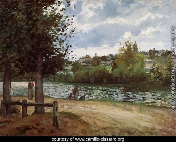 Banks of the Oise in Pontoise