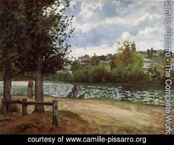 Camille Pissarro - Banks of the Oise in Pontoise
