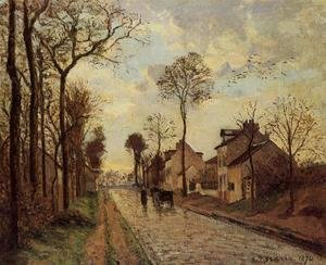 Camille Pissarro - Road in Louveciennes