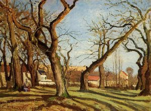 Camille Pissarro - Groves of Chestnut Trees at Louveciennes