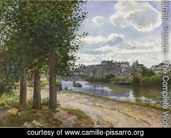 Camille Pissarro - Banks of the Oise