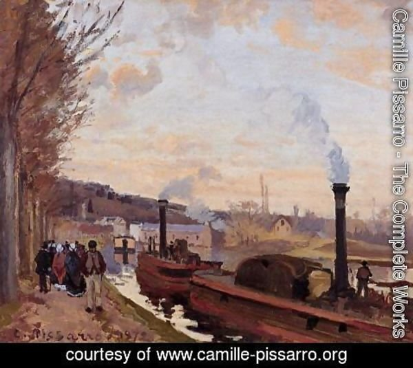 Camille Pissarro - The Seine at Port-Marly