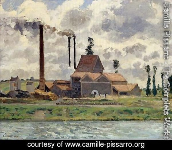 Camille Pissarro - The Factory