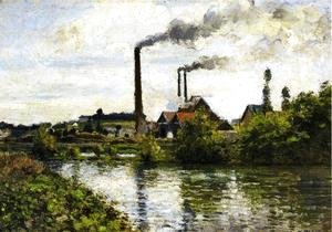The Factory at Pontoise