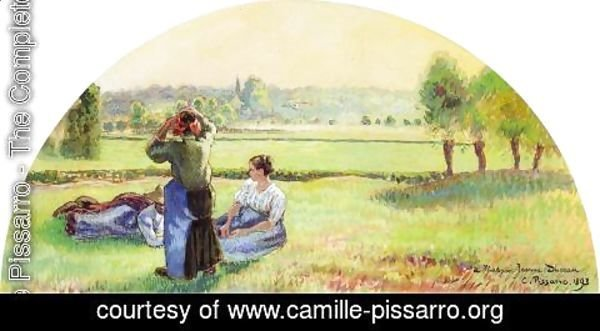 Camille Pissarro - Siesta in the Fields