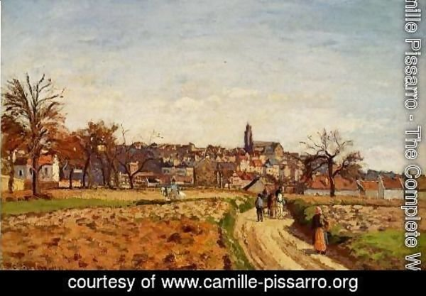 Camille Pissarro - View of Pontoise