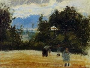 Camille Pissarro - The Clearing