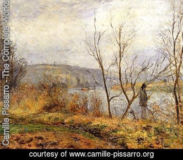Camille Pissarro - The Banks of the Oise, Pontoise