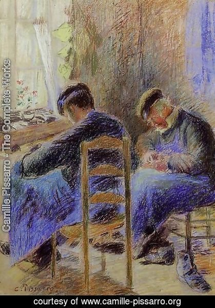 Camille Pissarro - Shoemakers