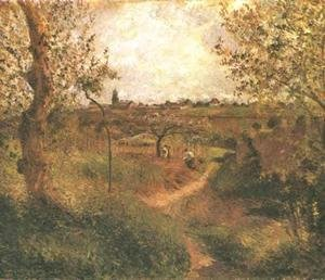 Camille Pissarro - A Path Across the Fields