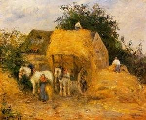 The Hay Wagon, Montfoucault