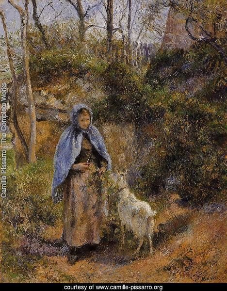 Peasant Woman with a Goat