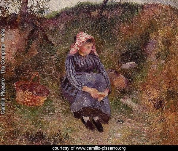 Seated Peasant Woman I