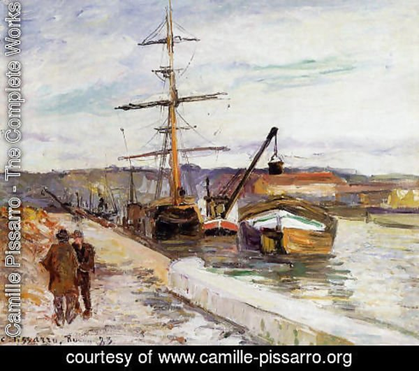 Camille Pissarro - The Port of Rouen