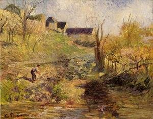 Camille Pissarro - Landscape at Osny I