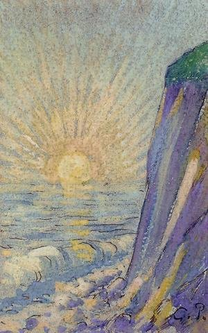 Camille Pissarro - Sunrise on the Sea