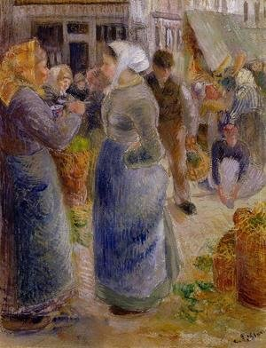 Camille Pissarro - The Market