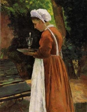 Camille Pissarro - The Maidservant