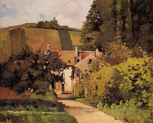 Camille Pissarro - Village Church