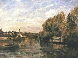Le Grenouillere at Bougival