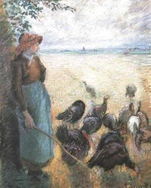 Camille Pissarro - Turkey Girl