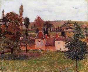Camille Pissarro - Farm at Basincourt