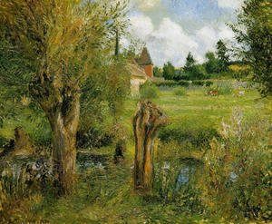 The Banks of the Epte at Eragny