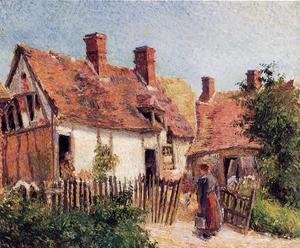 Old Houses at Eragny