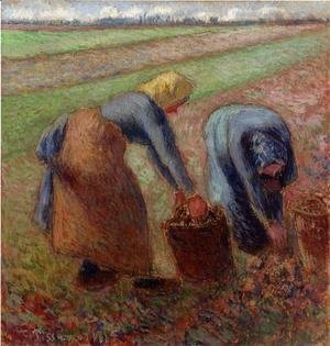 Camille Pissarro - Potato Harvest